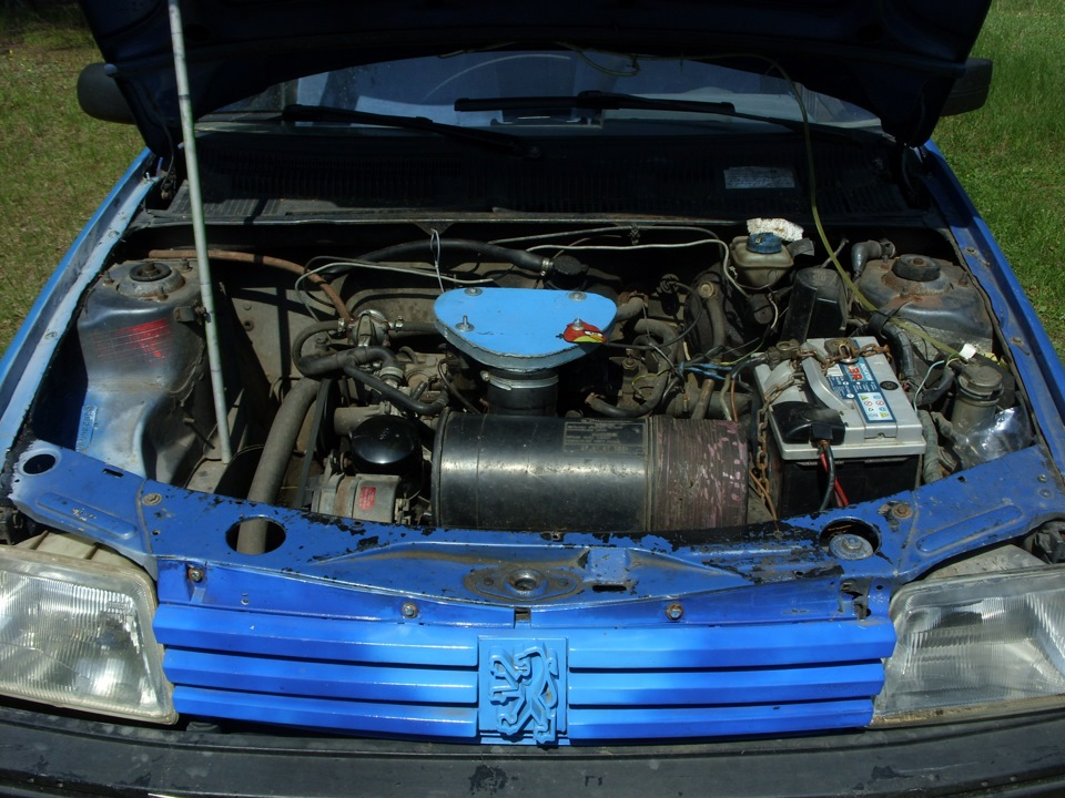 peugeot 205 б/у двигатель 1.4 1988г