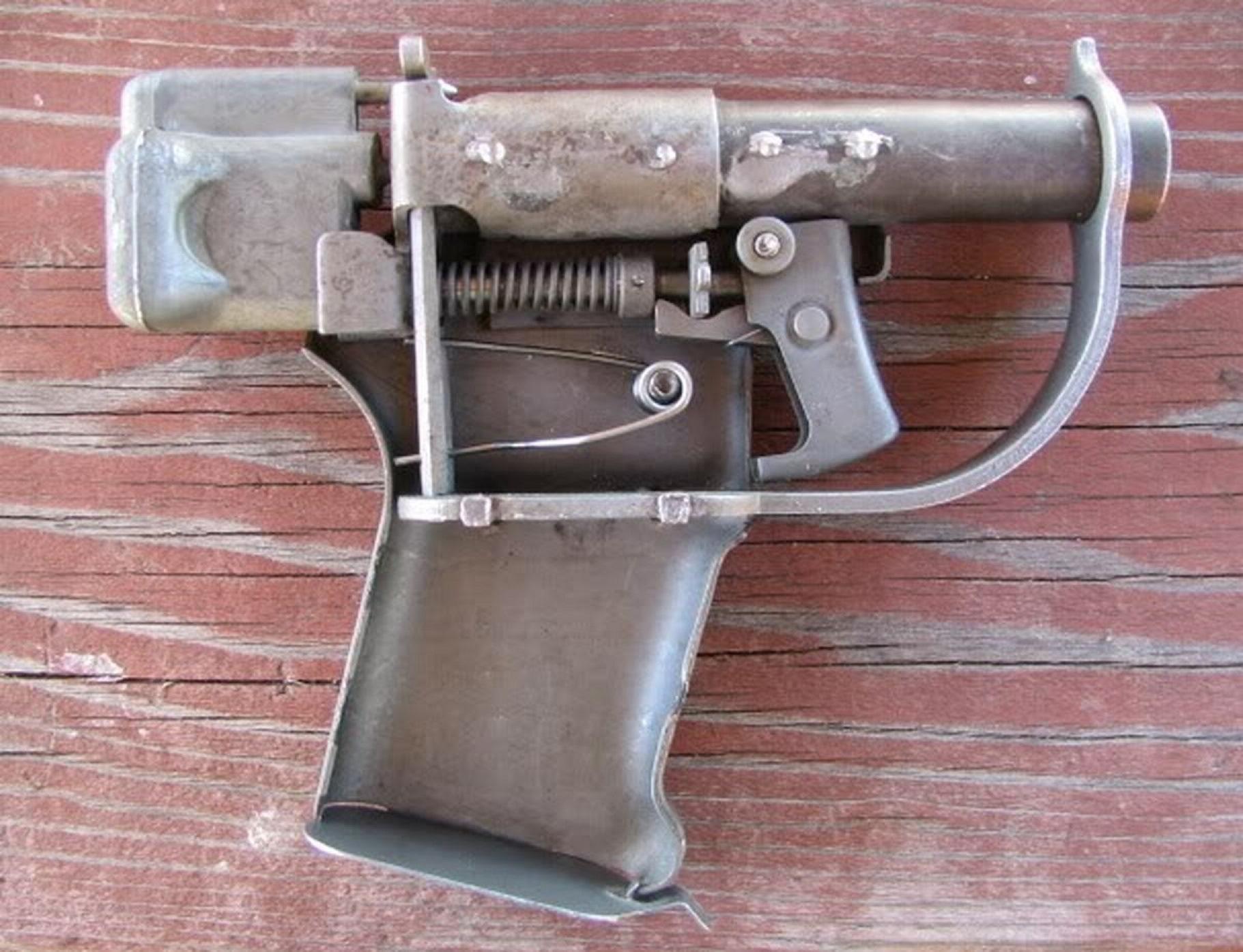 Простейший револьвер своими руками