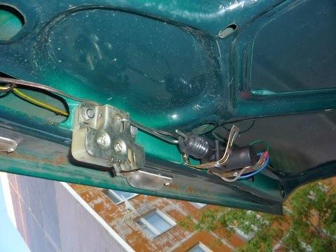 Электропривод багажника своими руками 2107