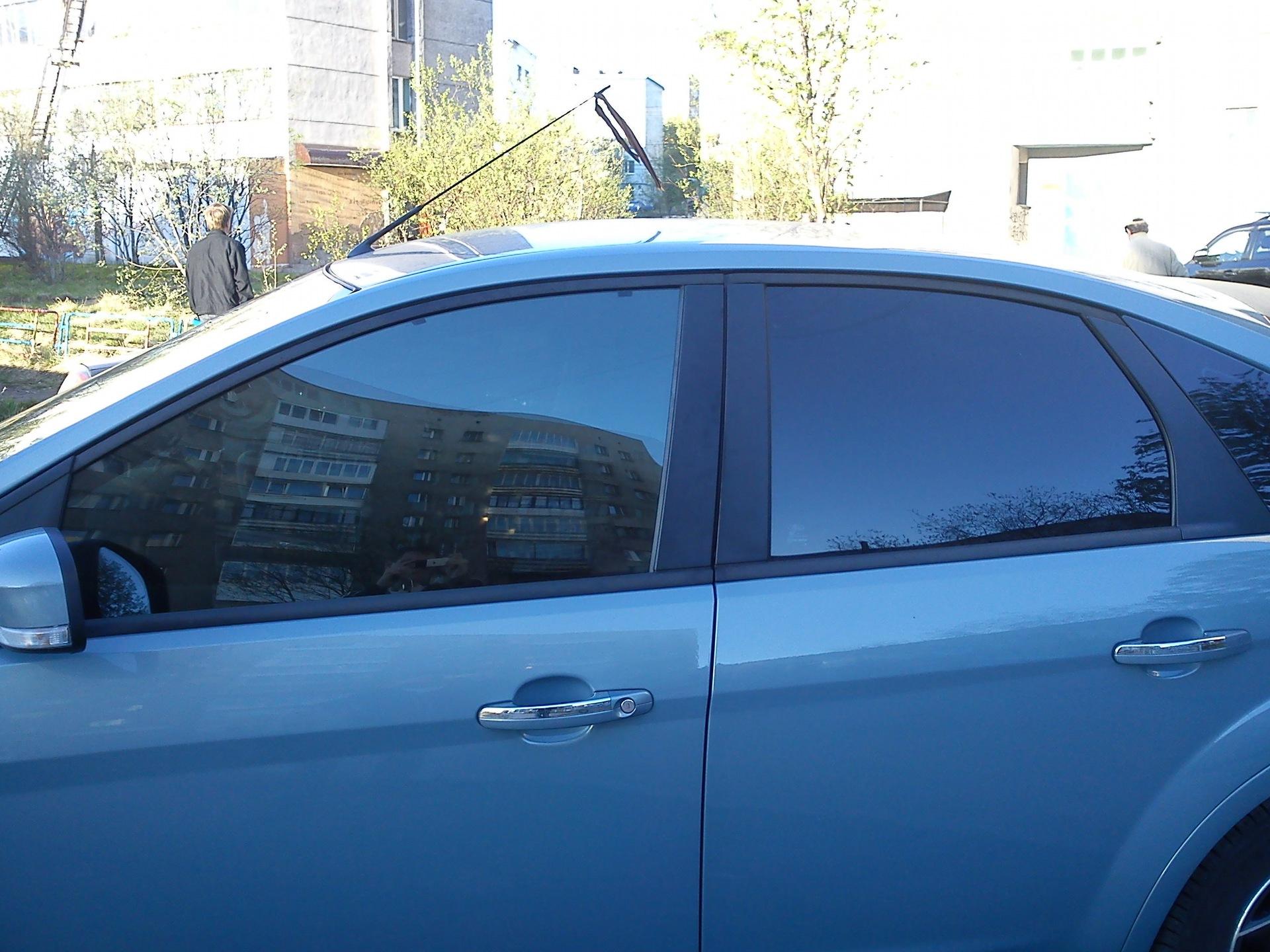 Тонировка передних стекол форд фокус 2 своими руками
