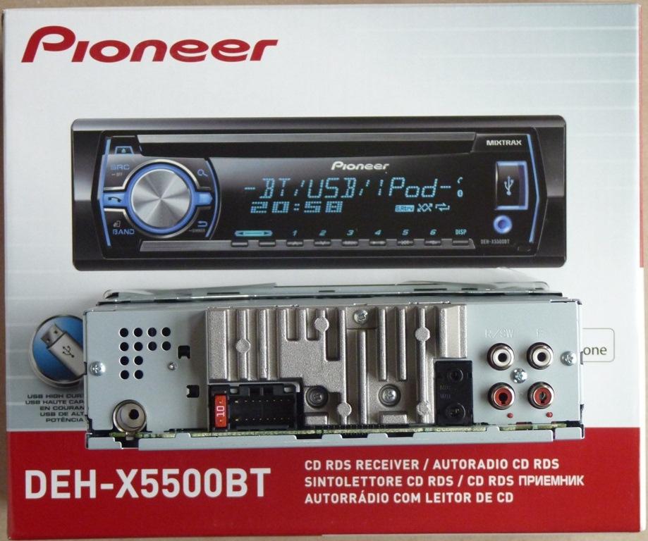 Магнитола Pioneer Deh-3050ub Инструкция