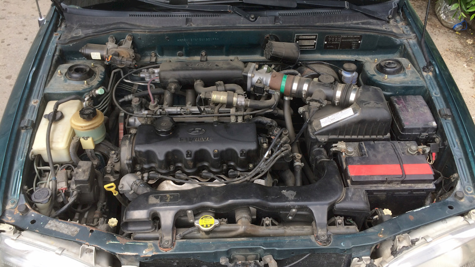 Машины › Hyundai › Accent › Accent (1st generation) ca523541c6e58