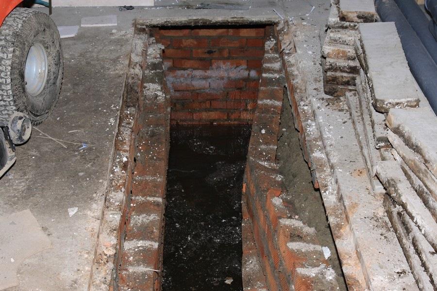 фото смотровая яма в гараже