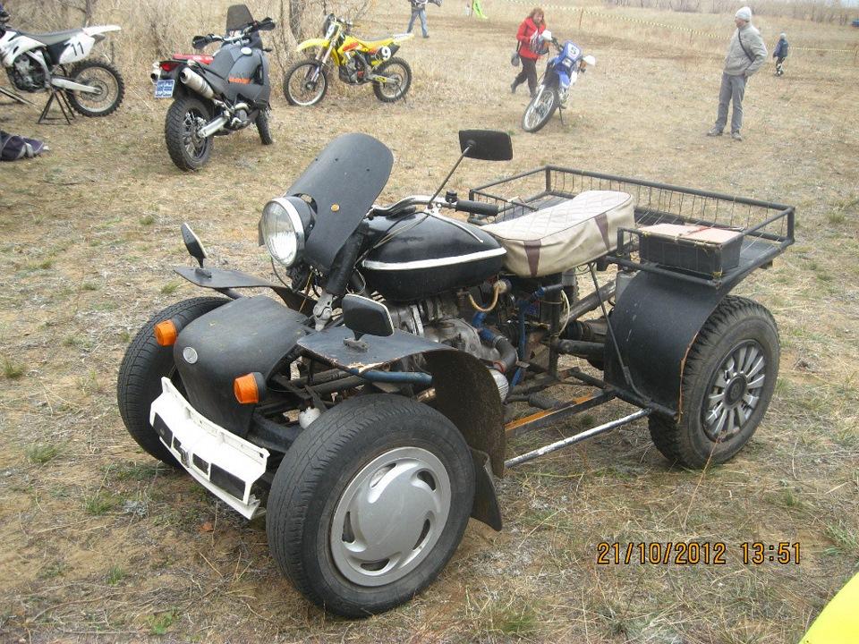 › блог › квадроцикл из мото урал м 67