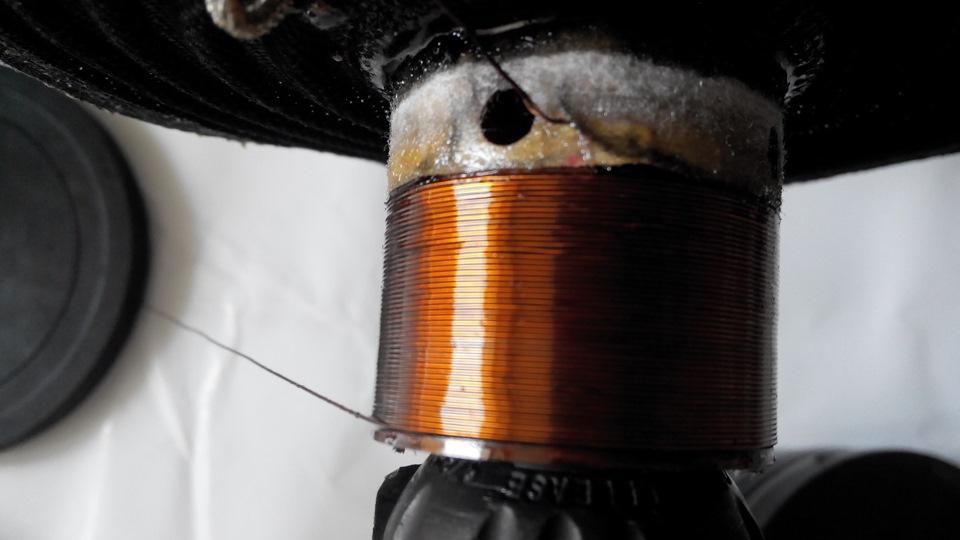 Намотка катушки сабвуфера