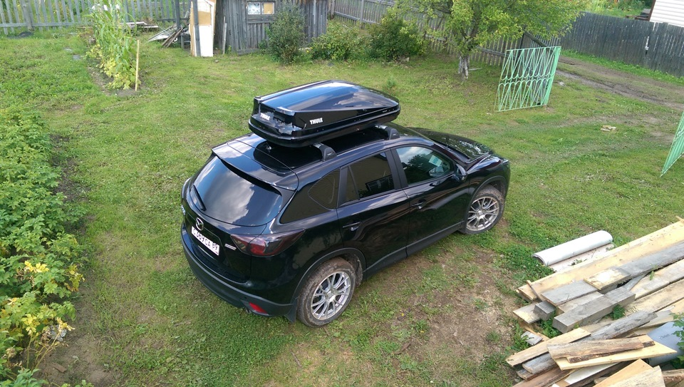 thule touring m 200 mazda cx 5. Black Bedroom Furniture Sets. Home Design Ideas