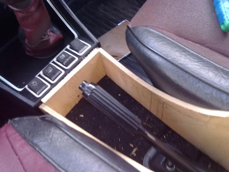 Как сделать подлокотник в машину своими руками фото