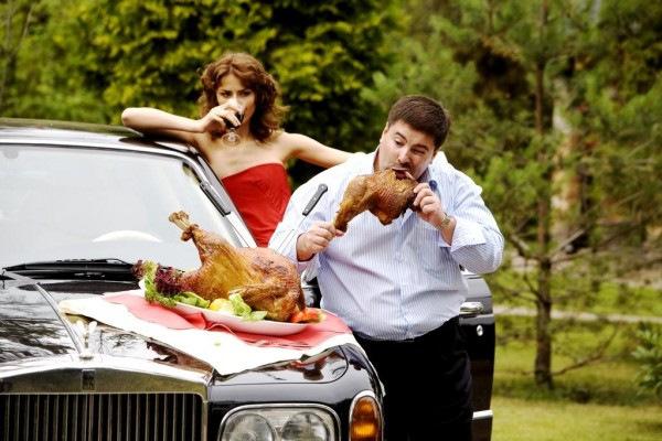 Помянем рисунки, смешная картинка кормить мужа