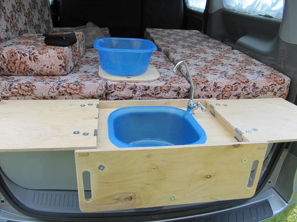 Кухня в автомобиле своими руками 54