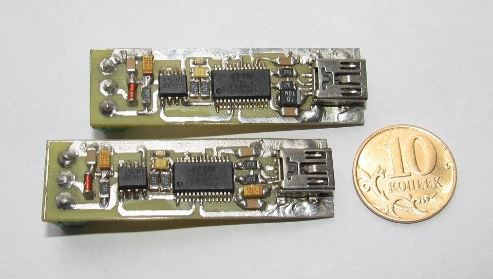 USB k-line адаптер.
