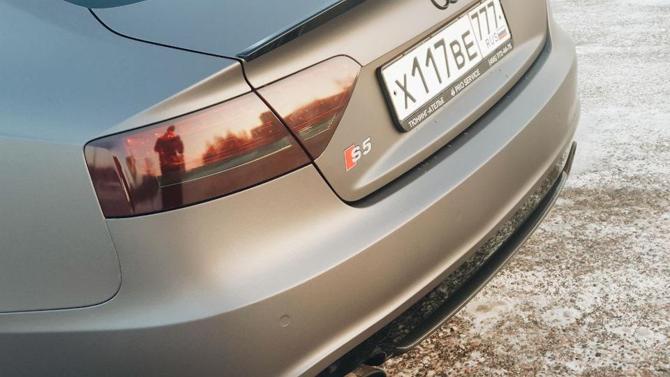 Новый облик в Audi S5