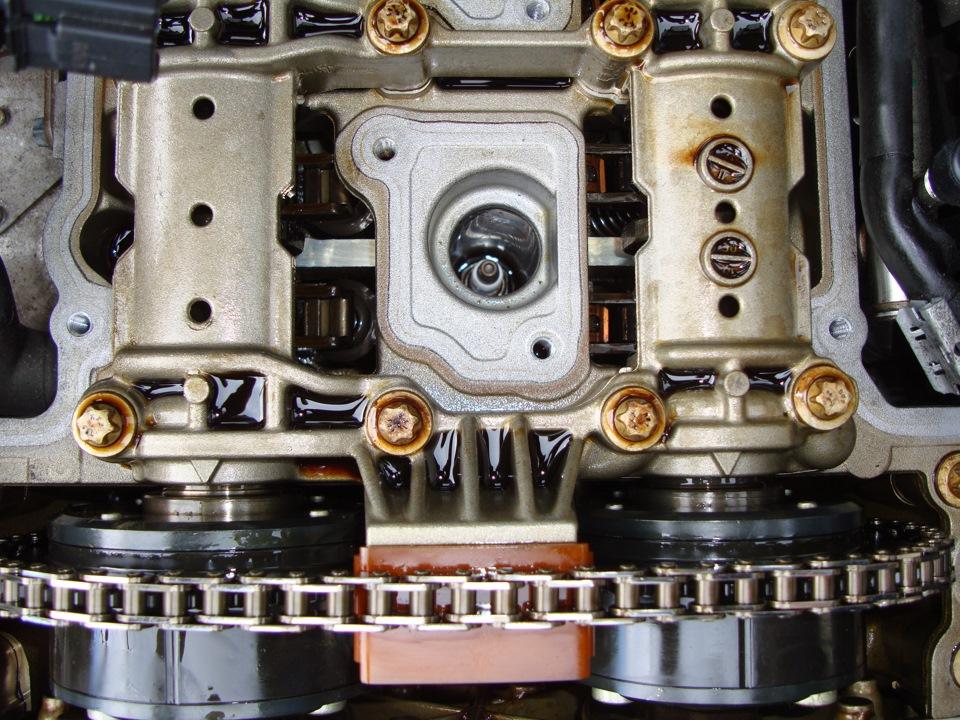 Замена цепи грм на мерседес 271 мотор