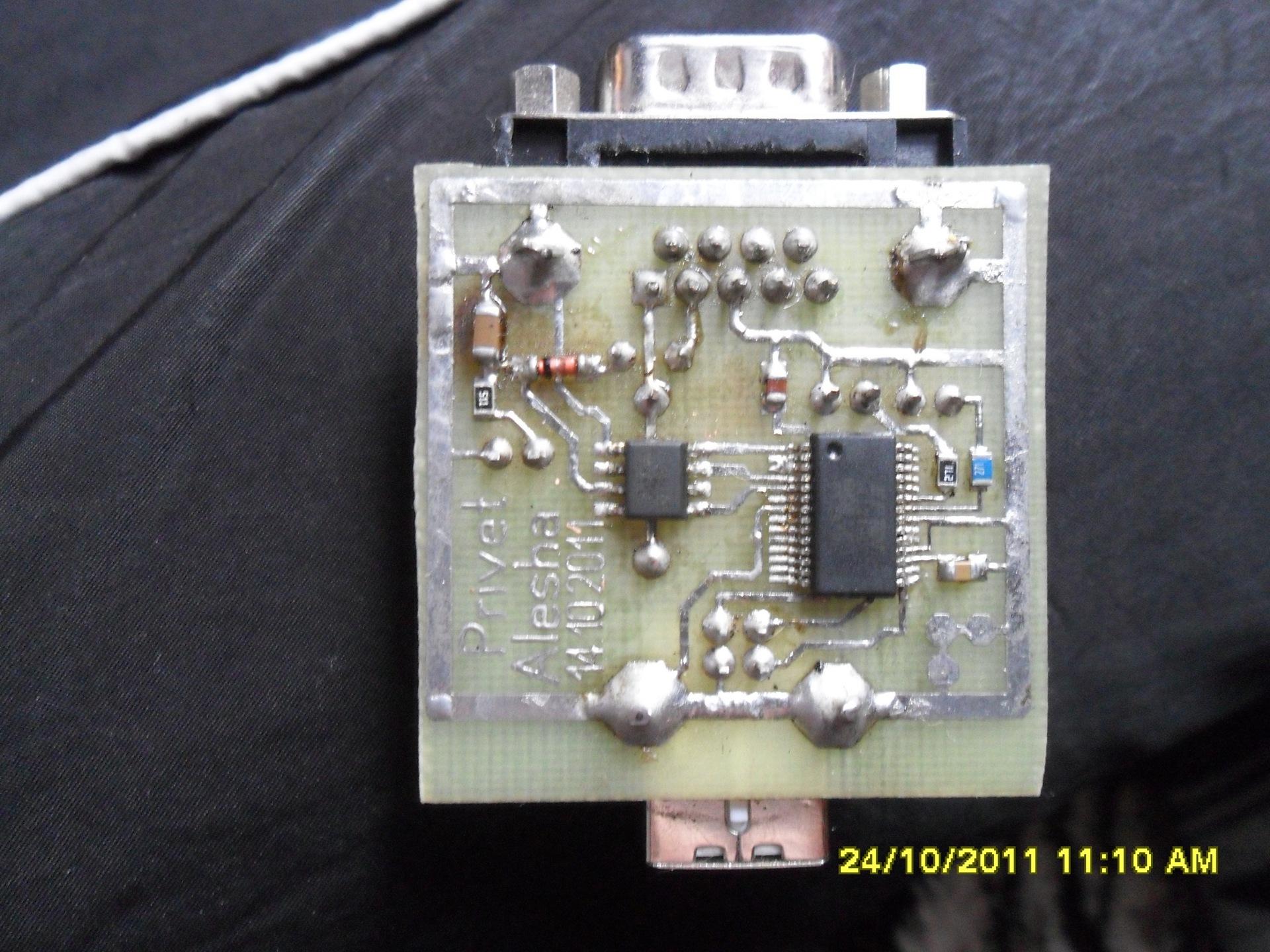 схема адаптер usb k-l-line ваз