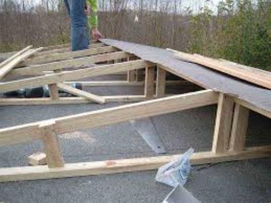Как и из чего лучше сделать крышу дома 907