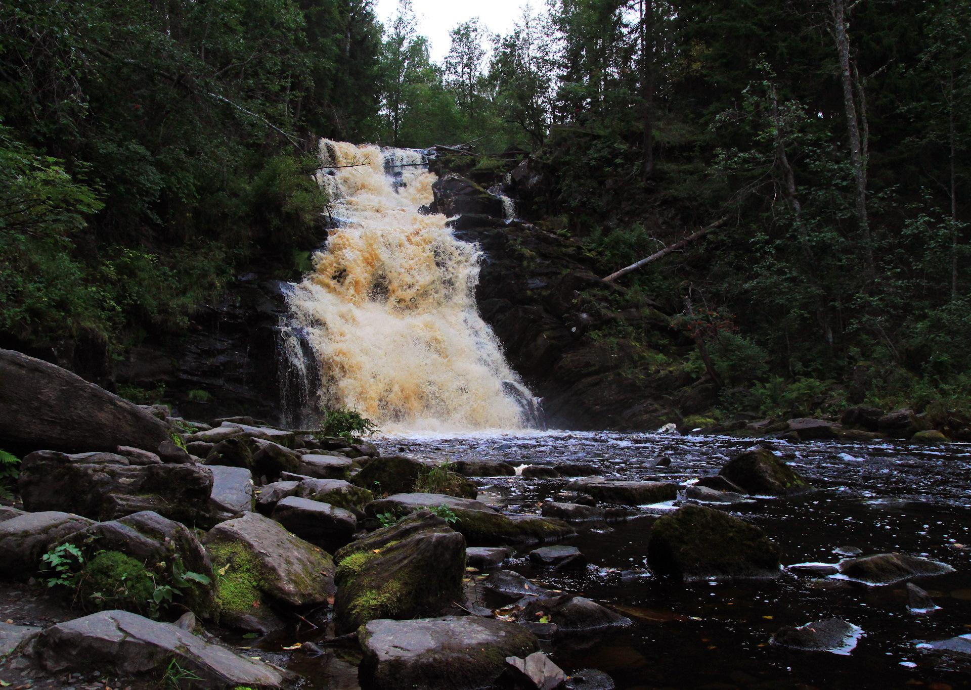 что-то подобное водопад белые мосты карелия фото даже поплыли разложились