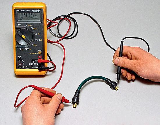 Испытания электропроводки