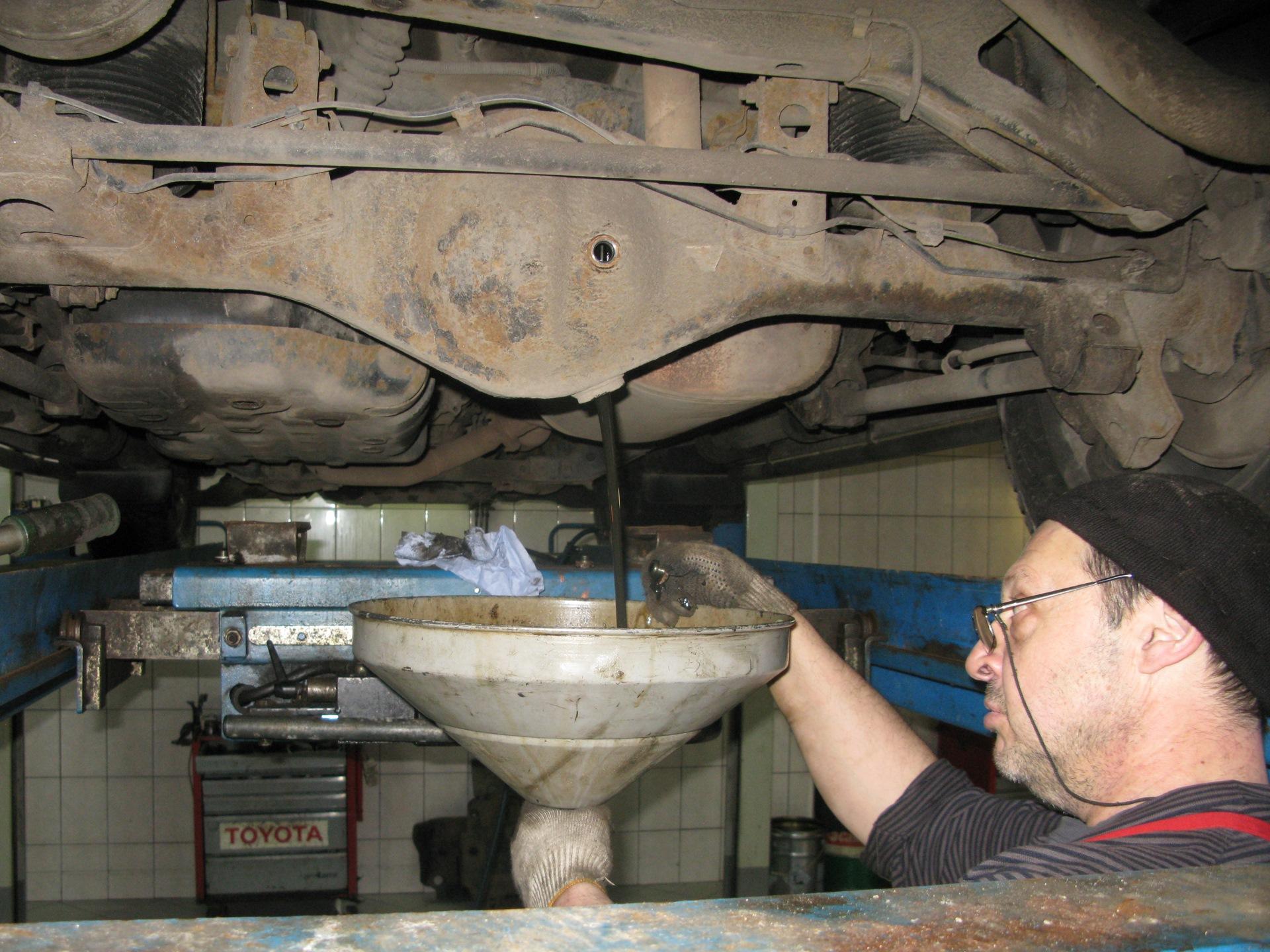 Техническое обслуживание Toyota Land Cruiser Prado 120