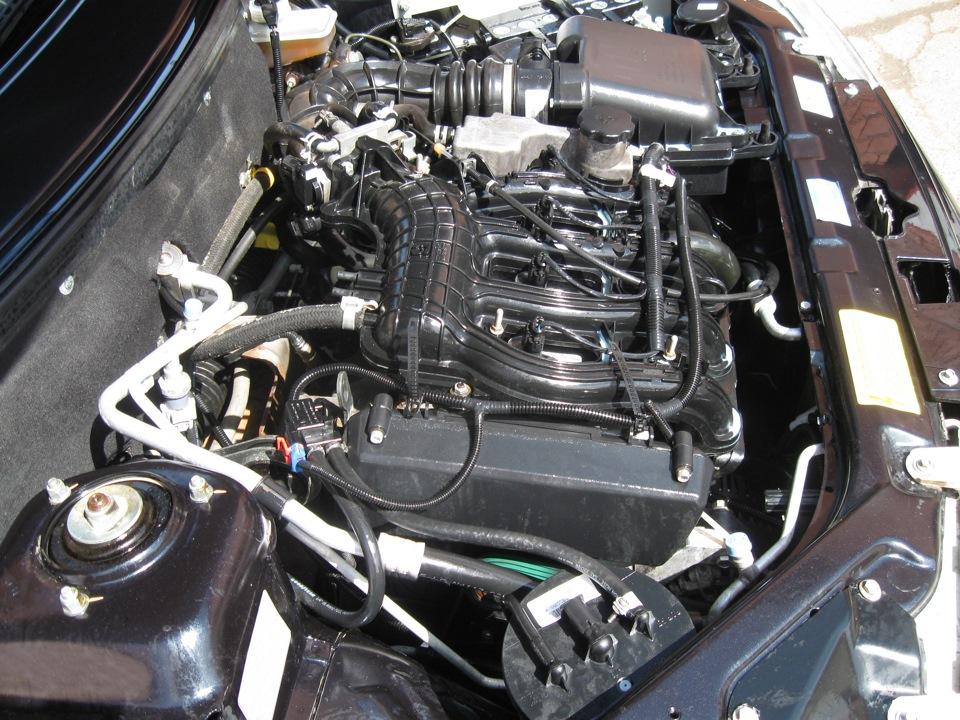 Как помыть двигатель ваз 21124