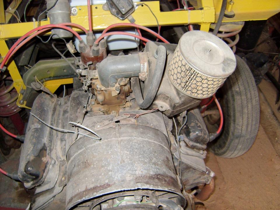 Заз 968м двигатель от ваза
