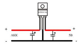 Схема подключения крен8б