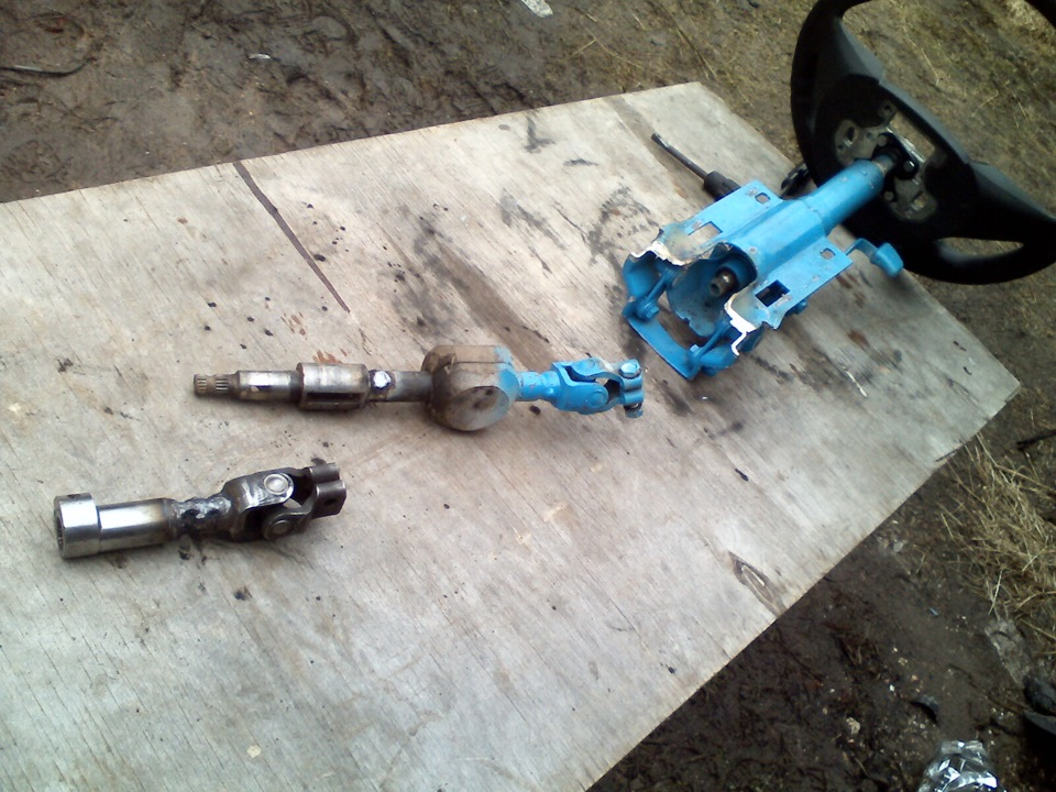 Ваз 2112 ремонт рулевой рейки своими руками
