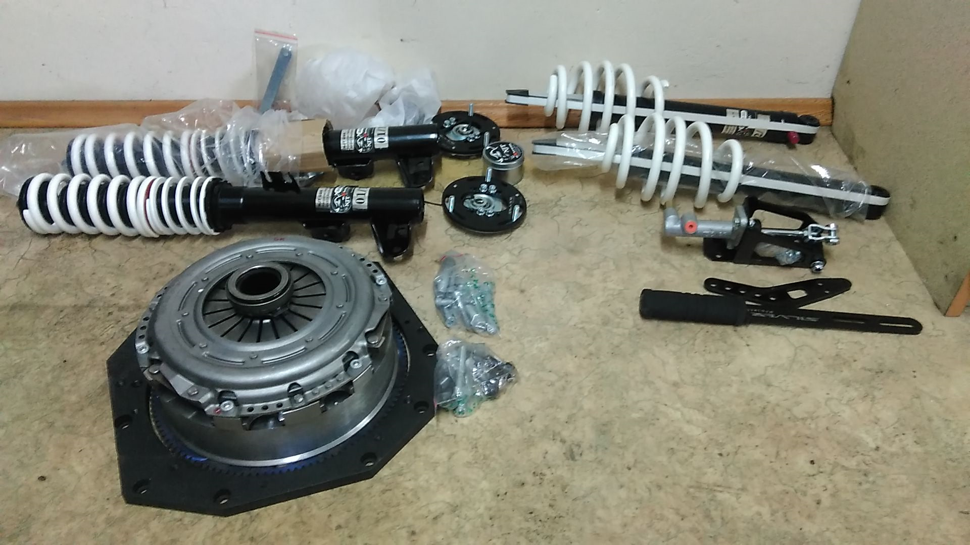 BMW Gearbox Adapter Kit + поддон +лапы — BMW 3 series Coupe