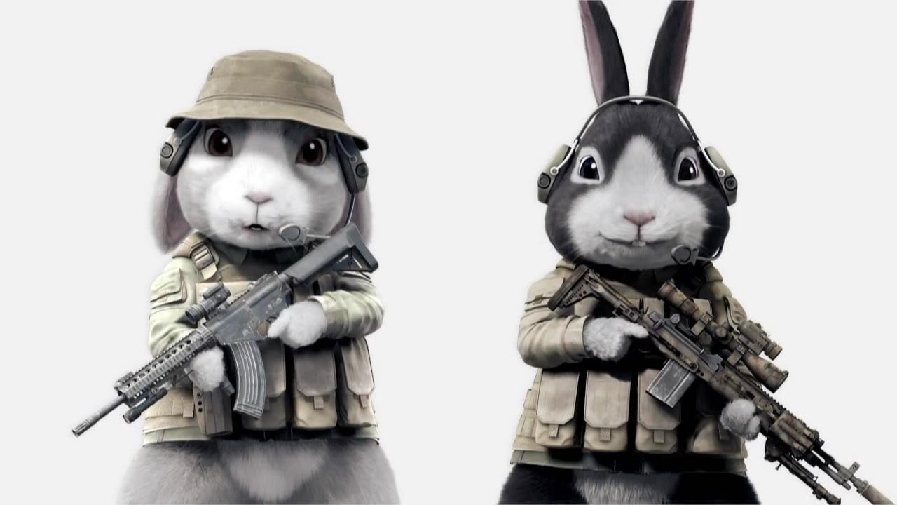 картинки с боевыми зайцами подобрала