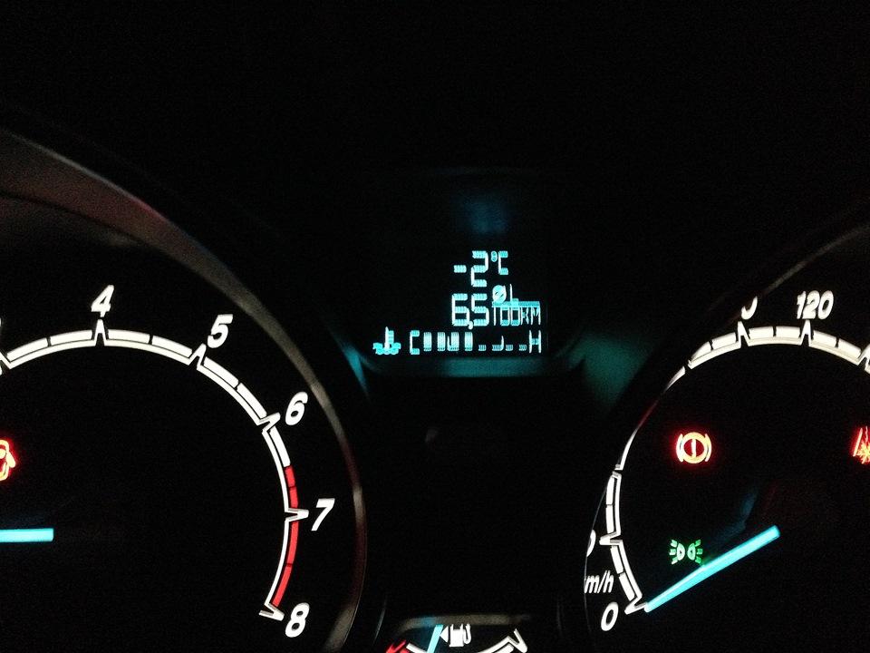 обнуление среднего расхода топлива hyundai i30