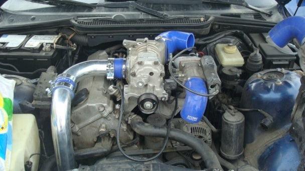 BMW 3 series 318 компрессор