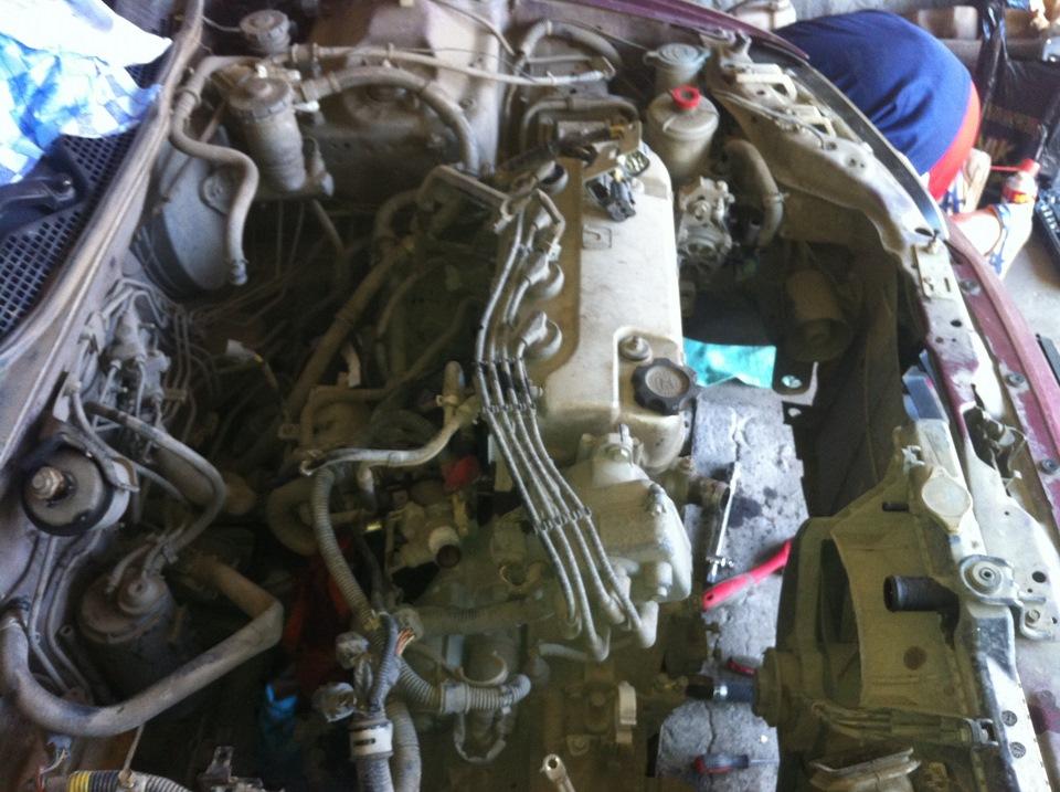 honda civic замена двигателя