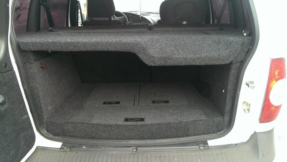 Багажник своими руками для нивы шевроле
