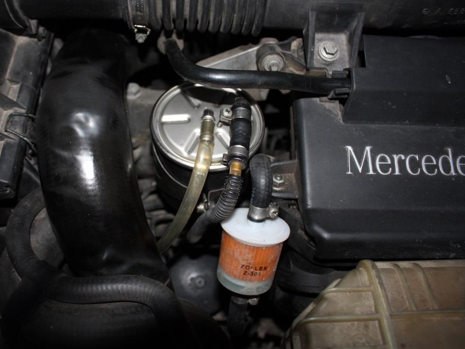 замена топливного фильтра тойота калдина 211