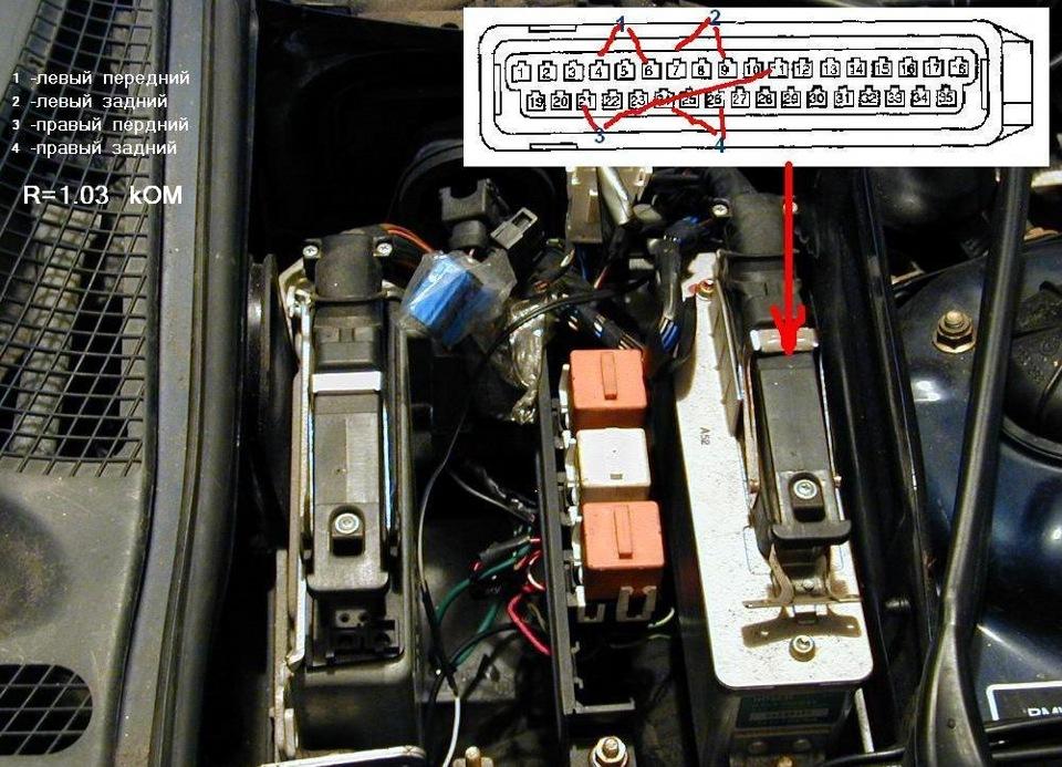как проверить датчик abs на BMW e39