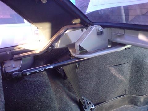 Как заменить торсионы багажнике ваз 2115