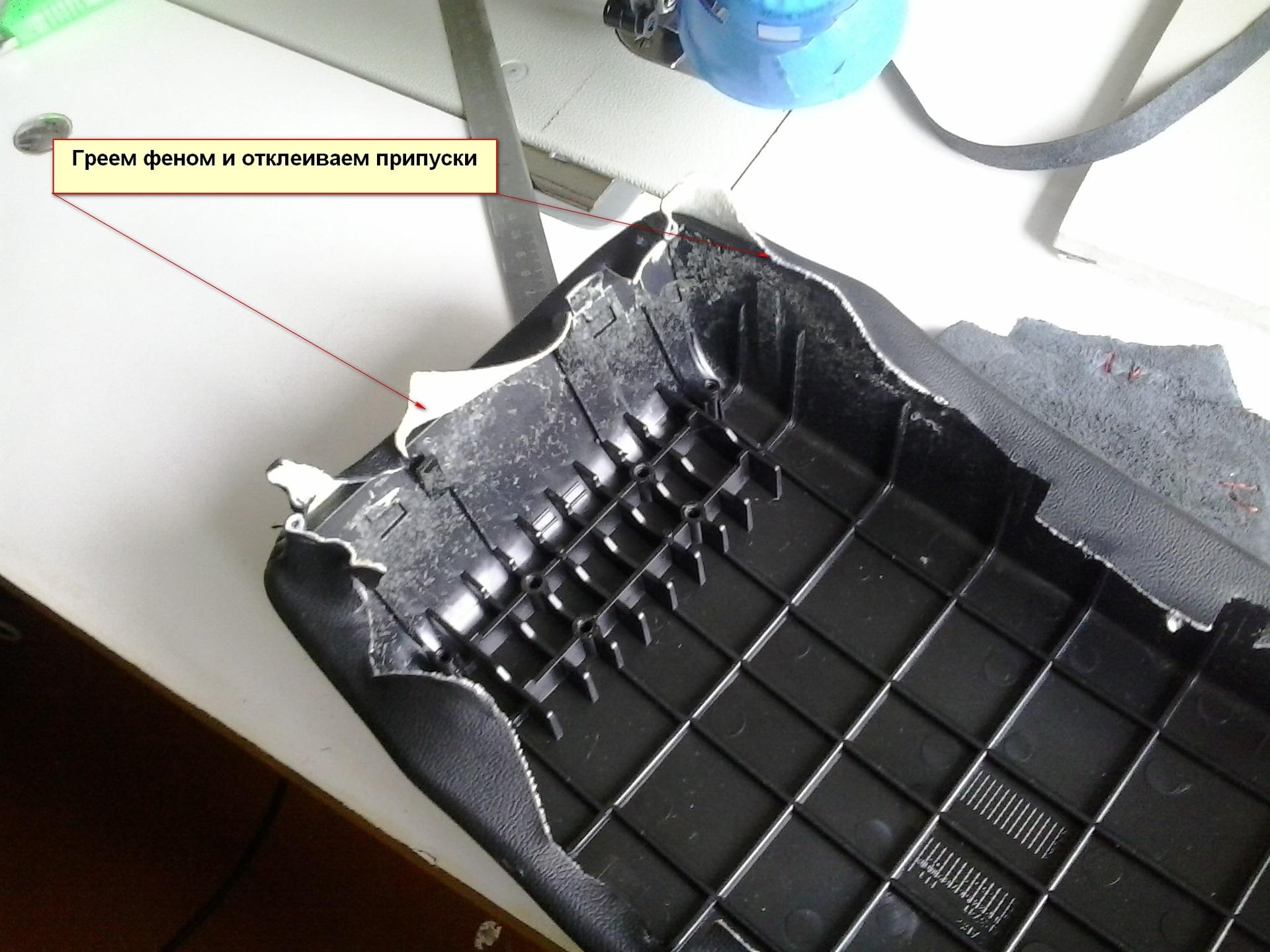 Как сделать выкройку подлокотника фото 485