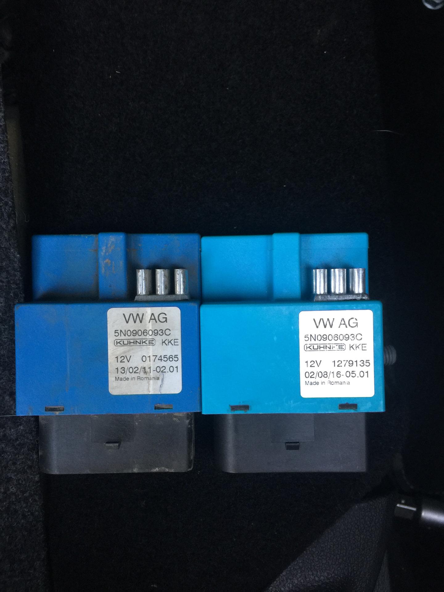 18  Ошибка 012425 и P3089 — Volkswagen Tiguan, 2 0 л , 2011