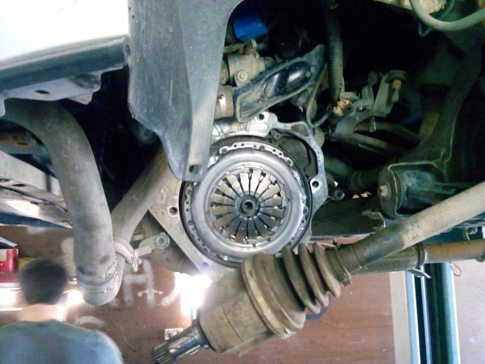 Замена сцепления опель корса робот