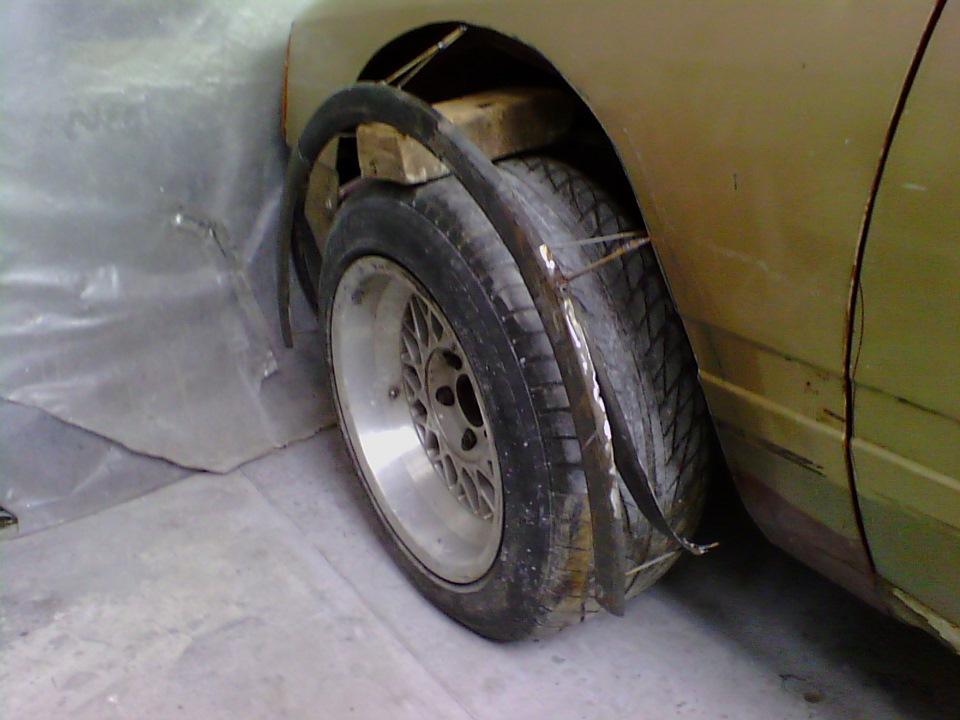 Колесные арки своими руками ремонт колесных арок фото