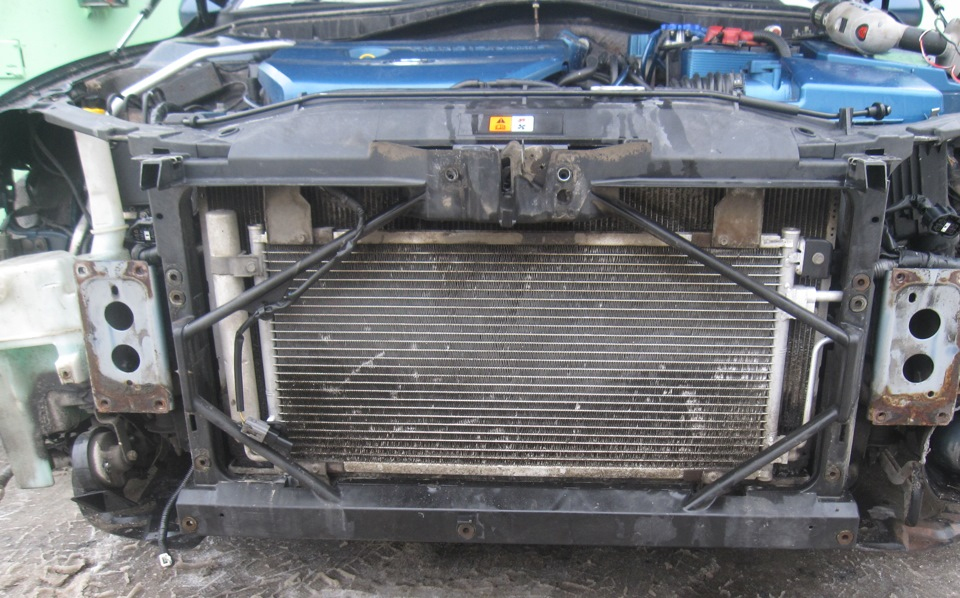 Замена радиатора кондиционера мазда 6 своими руками