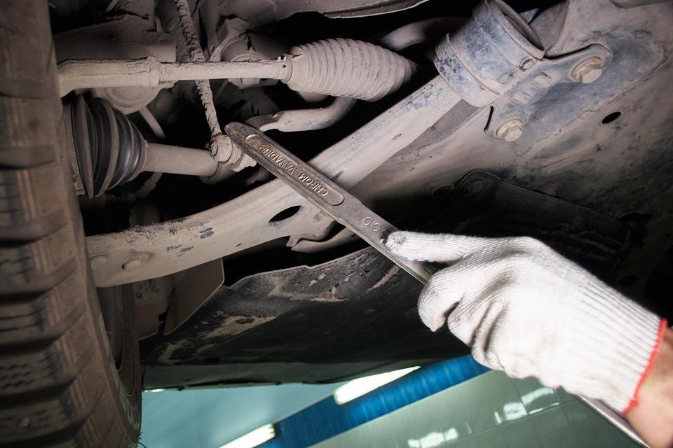 Диагностика стоек стабилизатора Ford Focus III