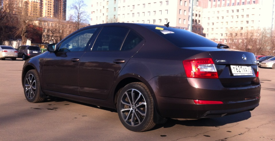 skoda octavia a7 wheels