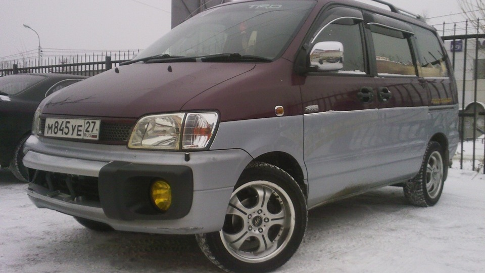 toyota lite ace noah off road