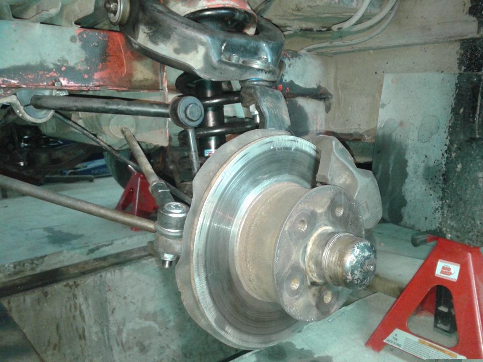 вопрос ремонт подвески фольксваген т4 замыкает первую