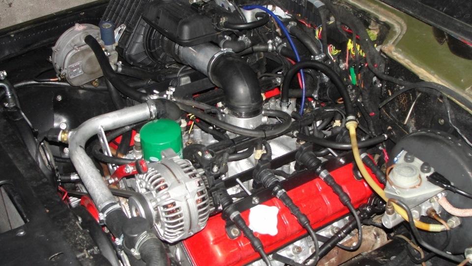 УАЗ 469 ЗМЗ V8 Инжекторные