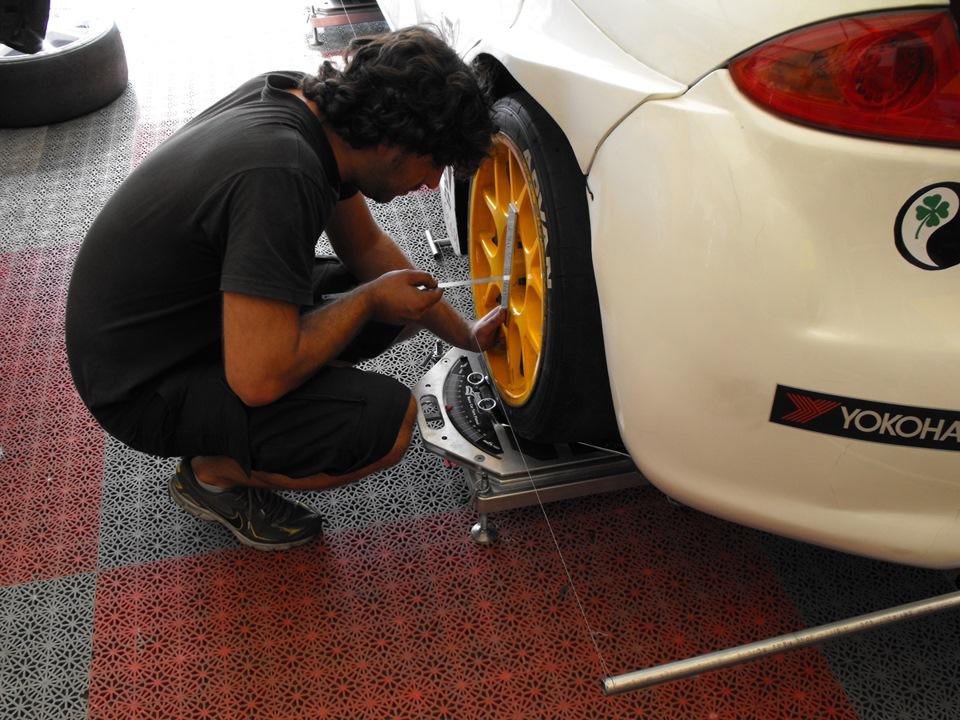 Приспособление для установки схождения колес 154
