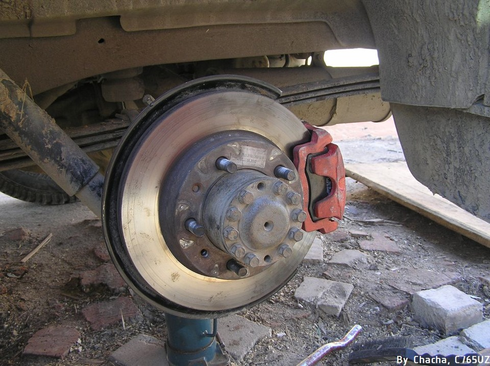 36Как сделать передние дисковые тормоза на уаз
