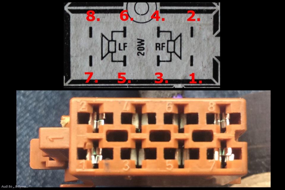 Подключение 4х канального
