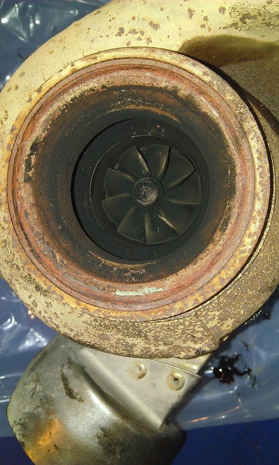 Замена турбины на фольксваген т5 своими руками 19