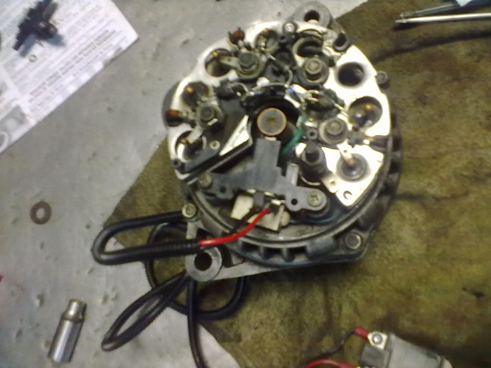 Фото №23 - 3 х уровневый регулятор напряжения ВАЗ 2110
