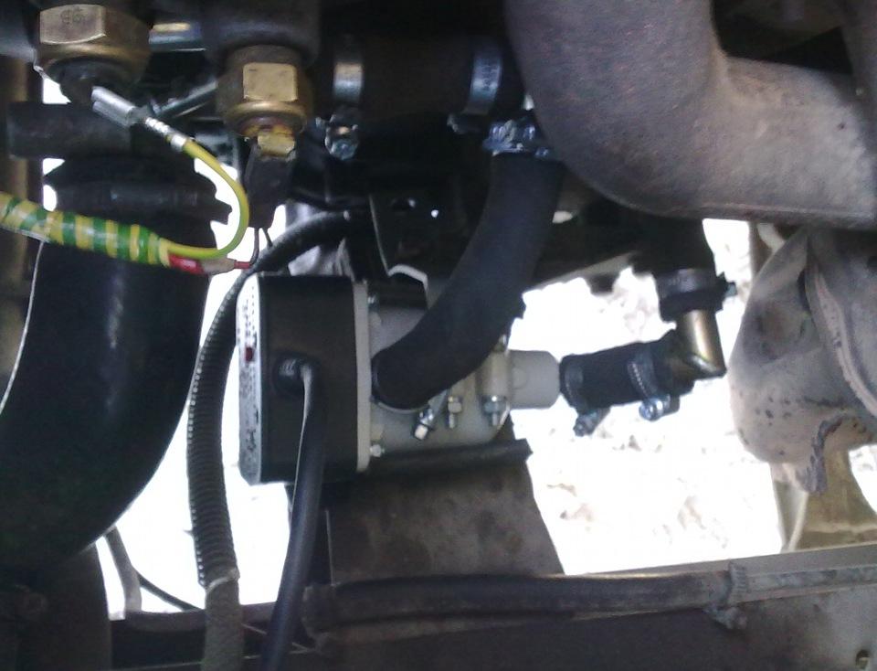 Инструкция по установка электроподогревателя